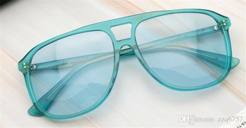 f7b3e1445a4 New Fashion Brand Designer Sunglasses 0262 Square Frame Popular Style Light  Color Summer Uv400 Protectin Eyewear Selling Wholesale Glasses Smith  Sunglasses ...