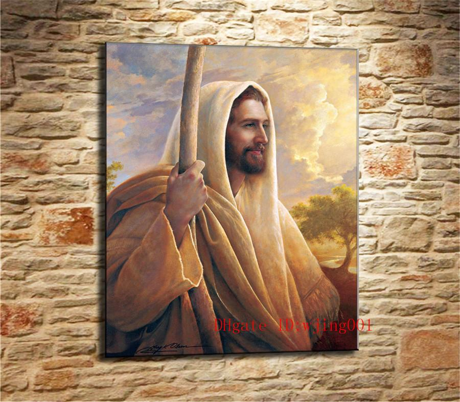 2019 Jesus Christ Lds Greg Olsen Canvas Pieces Home Decor HD Printed Modern Art Painting On Unframed Framed From Wjing001 641
