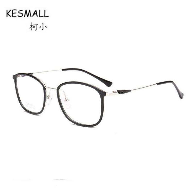 557b715beec4 2019 KESMALL Fashion Brand 2018 New TR90 Alloy Glasses Frame Men Women  Vintage Optical Eyeglassses Frames Computer Eyewear XN271 From Bojiban