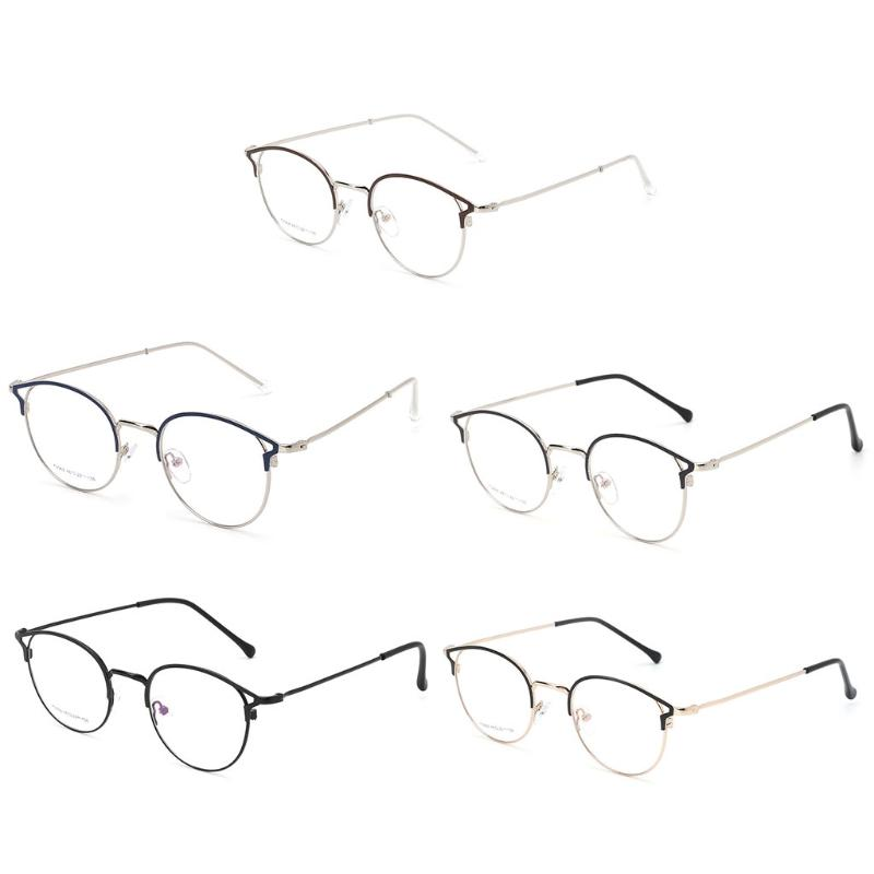 d4352104d6 2019 Fashion Optical Glasses Metal Frame Classic Clear Fashion Eyewear  Decorative Spectacles From Junemay