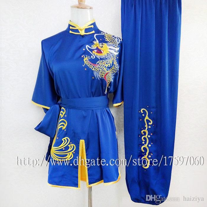 Chinese wushu uniform Kungfu clothing Martial arts suit taolu clothes  changquan garment shaolin outfit for adults women men boy girl kids