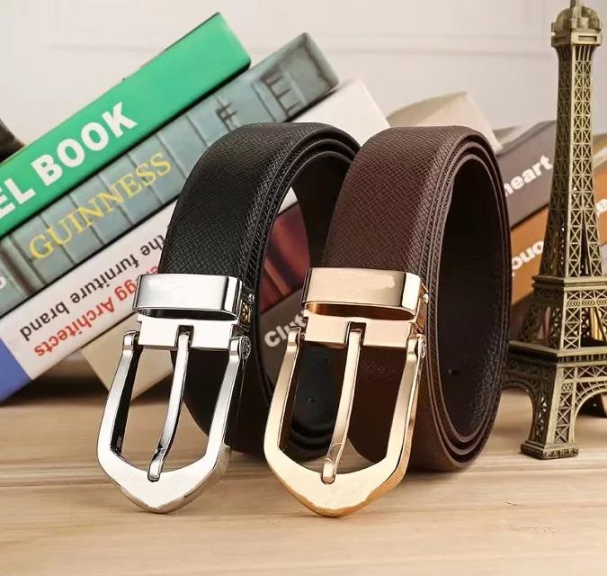 4edbd2507222 2018 Pin Buckle Belt High Quality Genuine Leather Waist Strap Belts ...