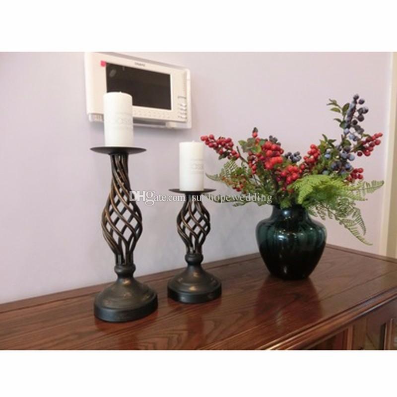 wedding decoration Metal flower Vase, Gold Trumpet Vase For Decoration