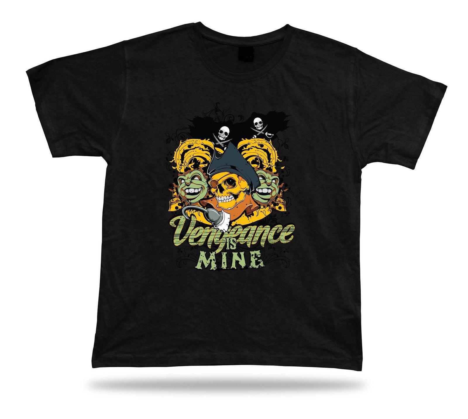 Tshirt Tee Shirt Birthday Gift Idea Pirate World Skull Ship Vengeance Treasure Online With 1854 Piece On Moviethirts Store