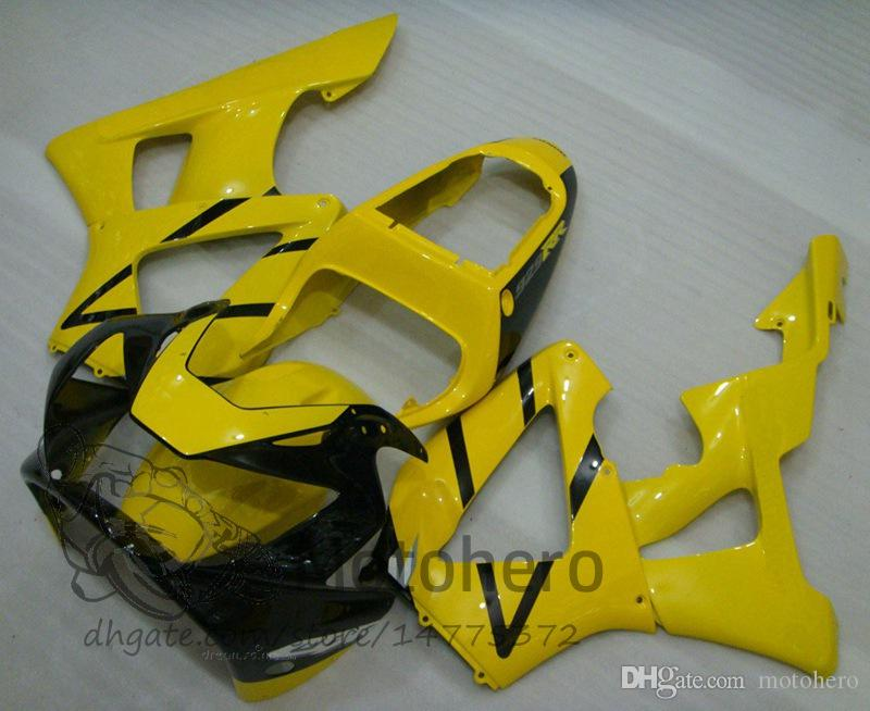 3Gifts injection fairings For Honda CBR 929 900 RR 929RR 00 01 900 2000 2001 CBR900RR CBR929 00 01 Motorcycle Fairing Kit Yellow black