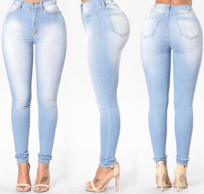 e1fc9a3e7 Ladies Push Up Jeans Women Skinny Sexy Stretch Low Rise Jeans Femme ...