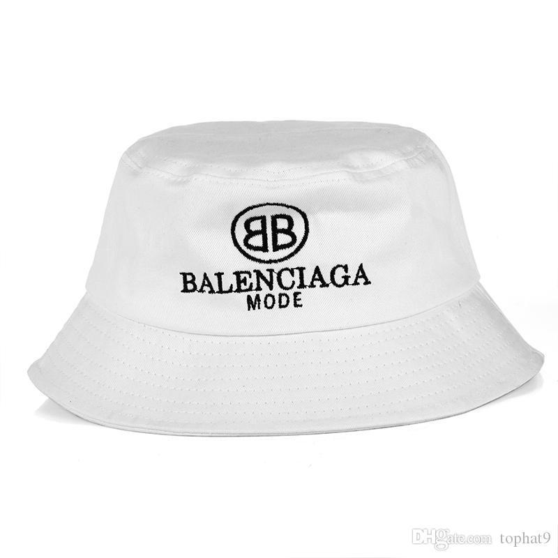 b65c671b Hot 2018 Fashion Baln Bucket Cap Foldable Fishing Caps Black Fisherman  Beach Sun Visor Sale Folding Man Bowler Cap For Mens Womens Bailey Hats  Scrub Hats ...