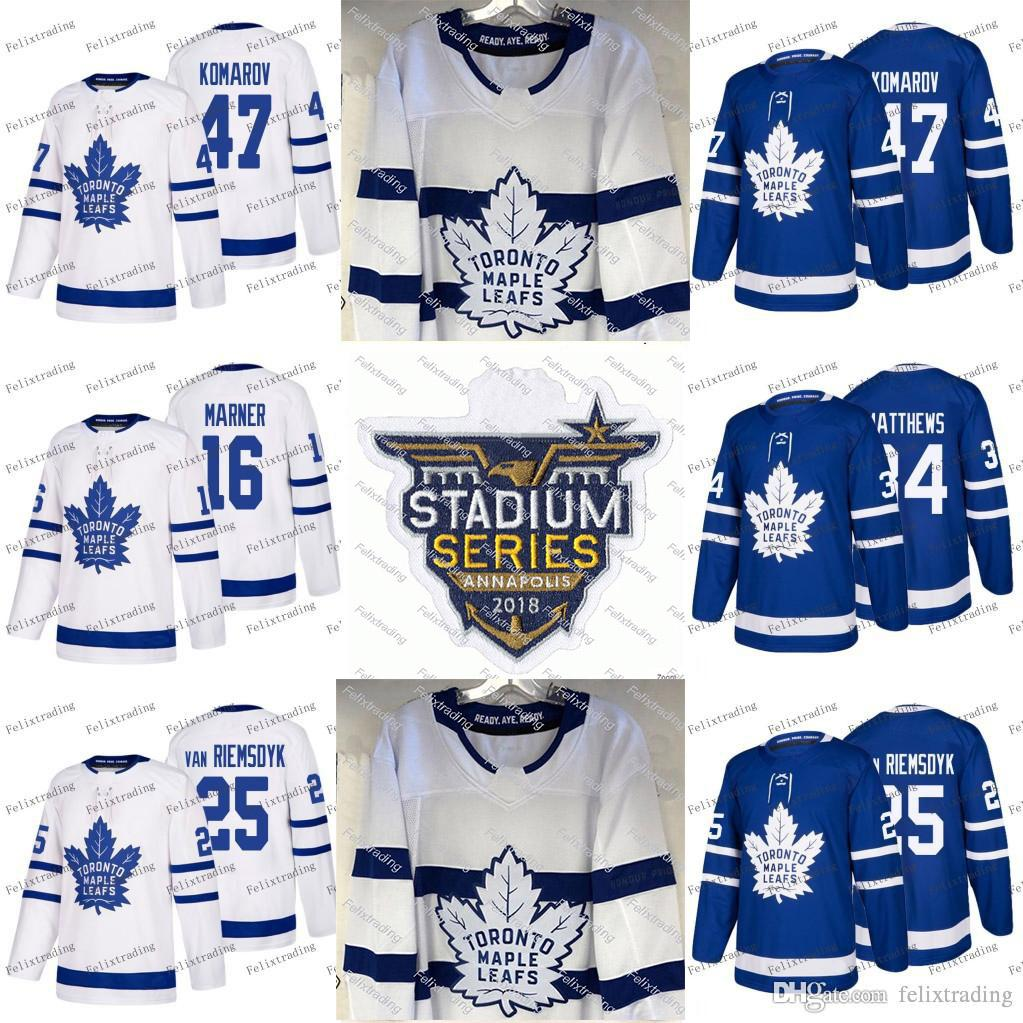47799afbd 2019 16 Mitch Marner 2018 Stadium Series Toronto Maple Leafs Auston  Matthews Tyler Bozak Zach Hyman Nazem Kadri Leo Komarov Josh Leivo Jerseys  From ...