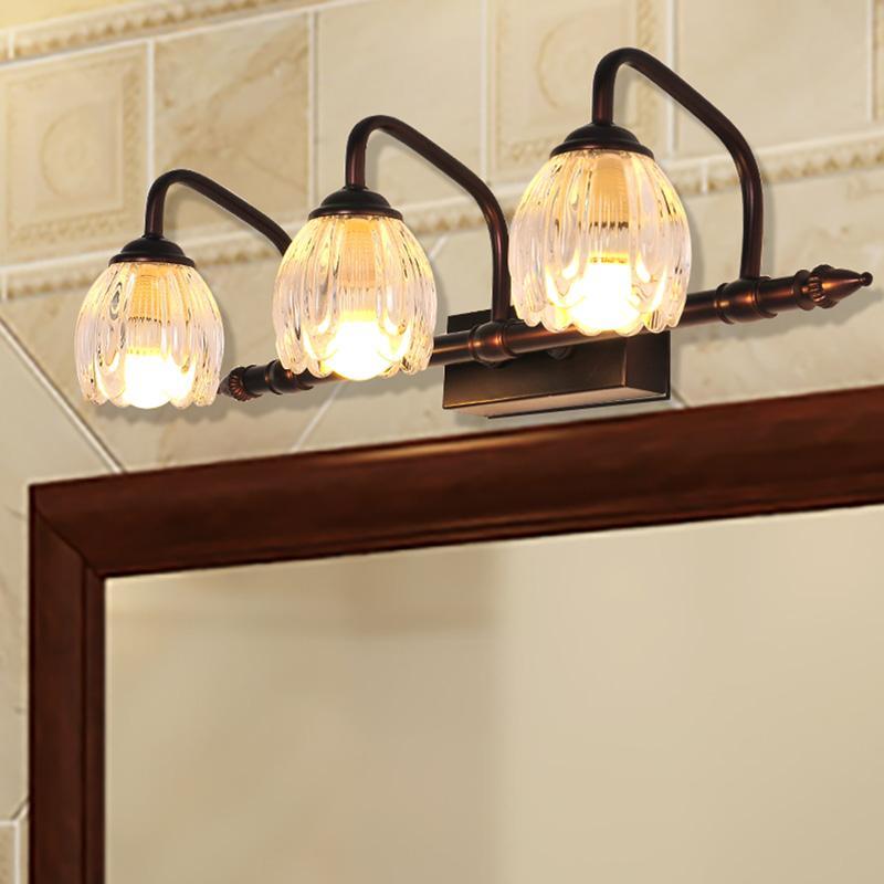Jane-European Mirror with Vanity Lights Toilet Bathroom in LED ...