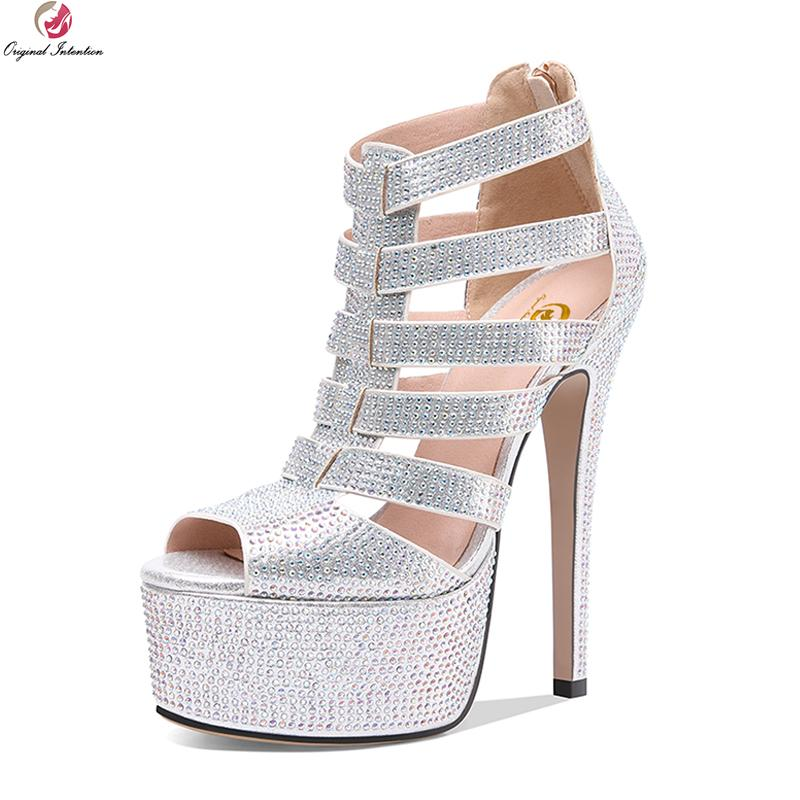 Wholesale Fashion Women Party Wedding Sandals Open Toe Thin High Heels  Sandals Black Silver Shoes Woman US Size 3 9.5 Stacy Adams Shoes Purple  Shoes From ... 87a99630fb7d