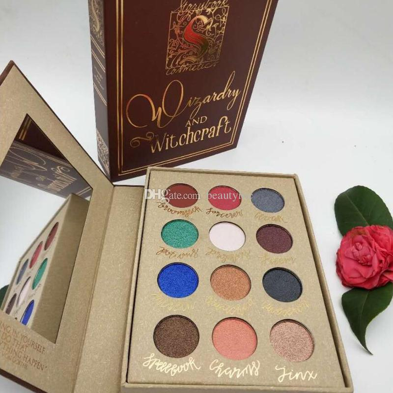 Storybook Cosmetics Wizardry And Witchcraft Eyeshadow Palette Harry Potter Storybook Mean Girls Burn Book Eyeshadow Palette Best Makeup Eyebrow Makeup From ...