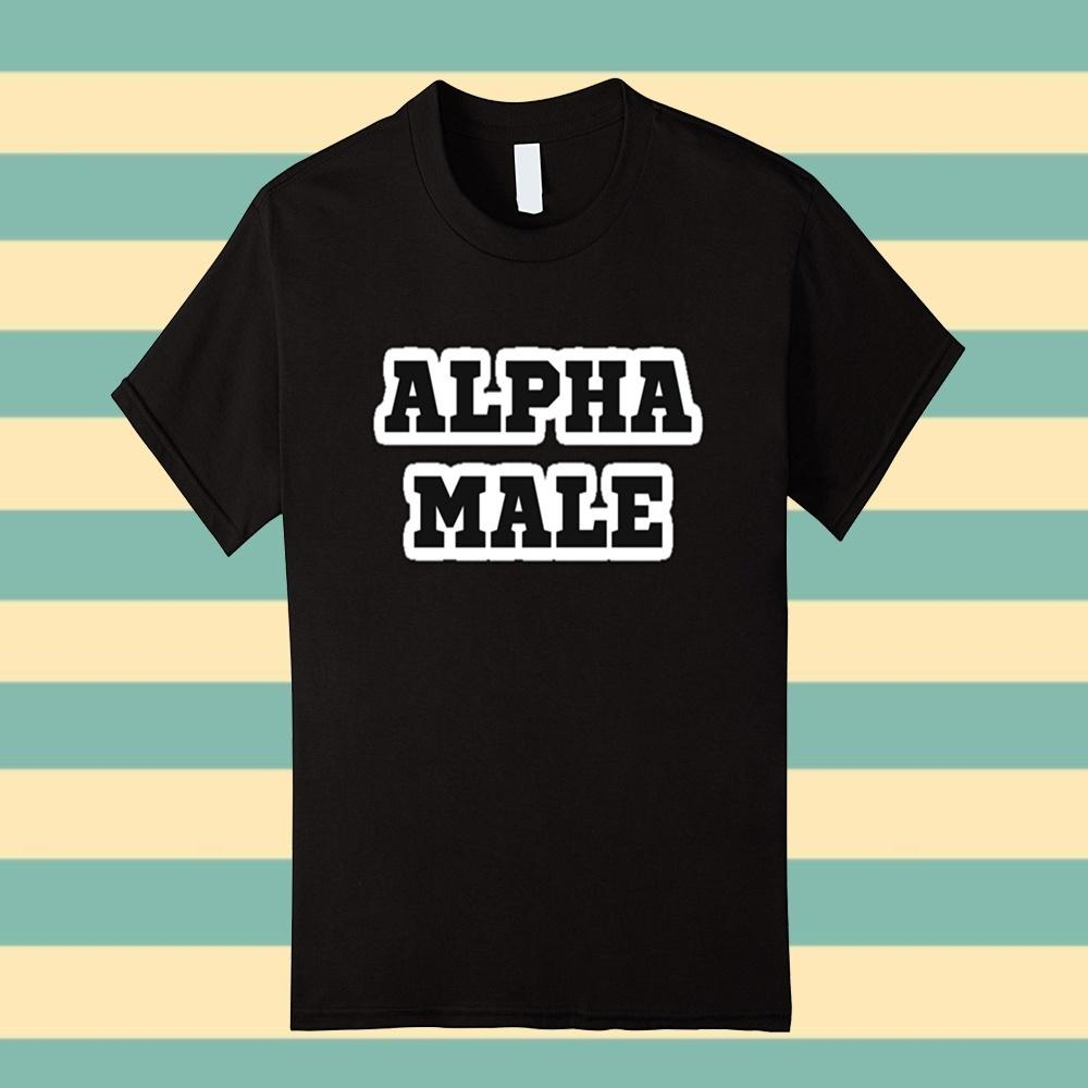 Custom T Shirts Cheap O-Neck Graphic Short Sleeve Alpha Male Ready To Succeed T Shirt T Shirts For Men