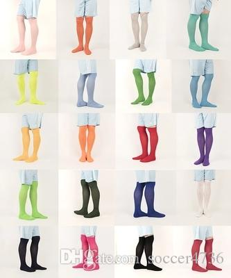 c60a7c400 2019 Thick Of Men And Women Football Socks Slip Long Cylinder Tube Solid  Knee Socks From Soccer4736, $4.25   DHgate.Com