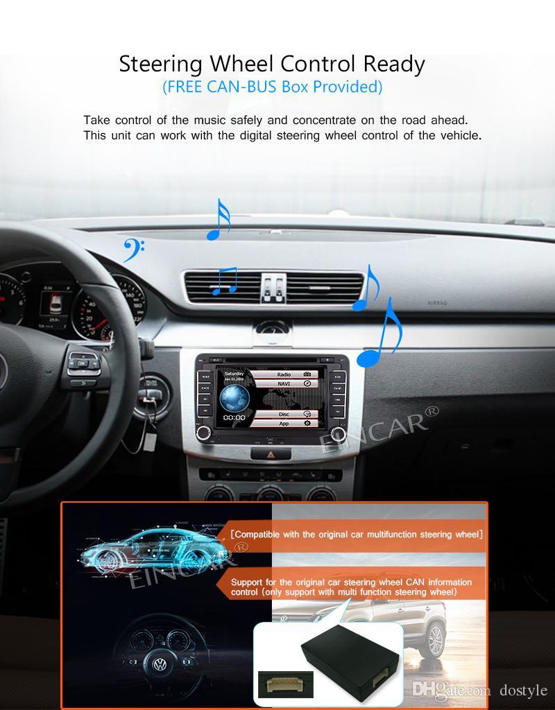 فيديو سيارة مزدوجة الدين 2 الدين automagnitol راديو السيارة ستيريو ل vw سيارة السمعية في اندفاعة مشغل dvd autoradio 8 جيجابايت gps خريطة بطاقة