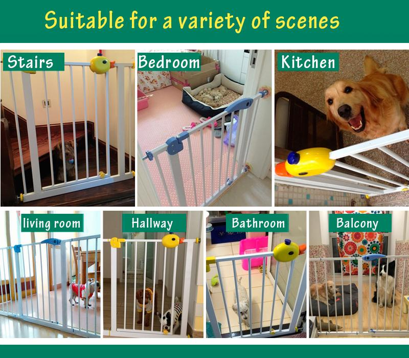 2018 75~82cm High Quality Quiet Solid Wood Baby Gate Stair Fence Pet Dog  Fence Dog Doors And Windows From Coolhi, $112.7 | Dhgate.Com