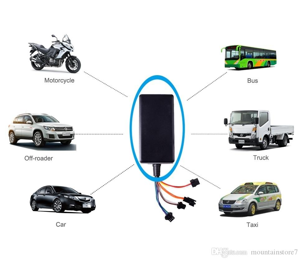 Original Mini Real Time Vehicle GPS Tracker,Remote cut-off  (petrol/power),SOS emergency call,Tracked by Phone APP, Computer ,SMS