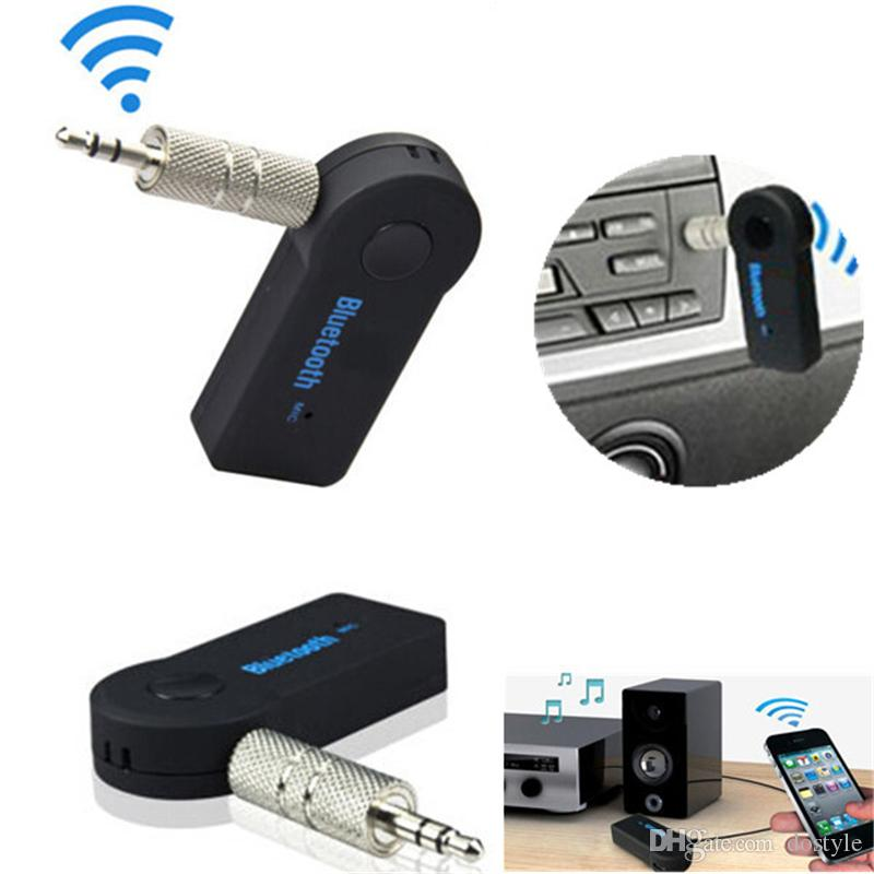 휴대용 블루투스 오디오 리시버 음악 스테레오 Rceiver 어댑터 자동차에 대 한 FM 송신기 자동차 키트 MP3 라디오 플레이어 블루투스 MP3 오디오