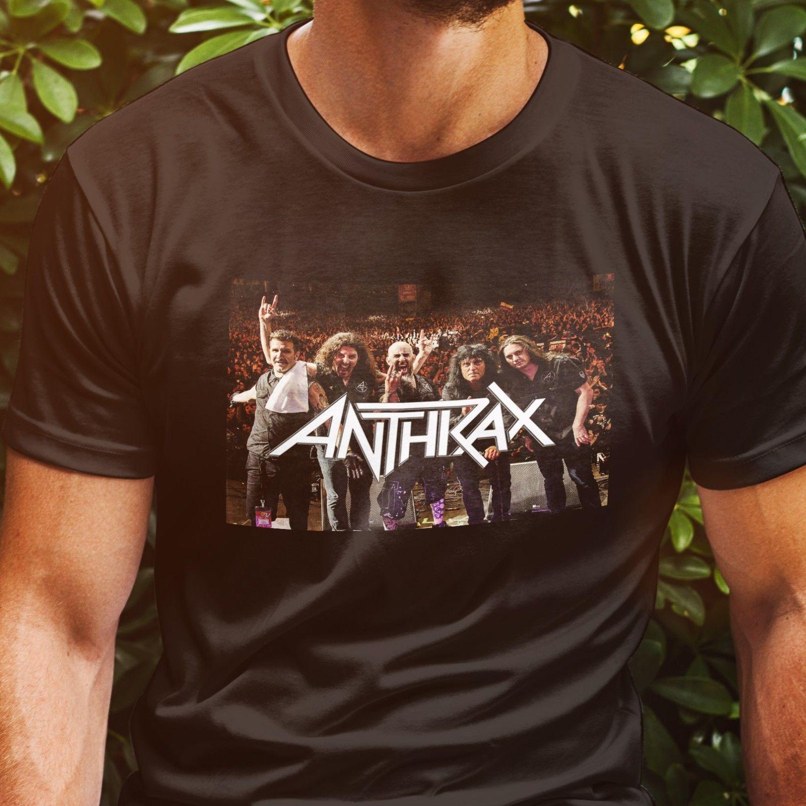ANTHRAX KILLSWITCH ENGAGE Tour 2018 - T-shirt dos homens negros M-3XL Gel1