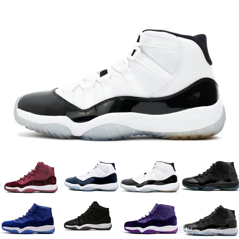 d19918866eb Top Quality 11 Prom Night Basketball Shoes Men Women 11s Space Jam ...