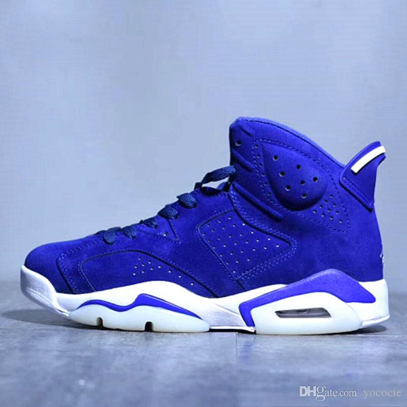 2b4ce3c5bdad9b In Stock Basketball Shoes 6S Black Cat Alternate Gatorade Green University  Blue Carmine For Men Sneakers Athletics Boots XZ164 Basketball Shoes For  Kids ...