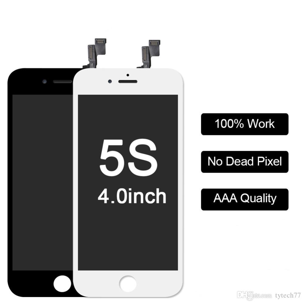 Jual Housing Original Fullset Iphone 5s Black Update 2018 5g Replacement Glass Sfb Details About For 40 Lcd Display