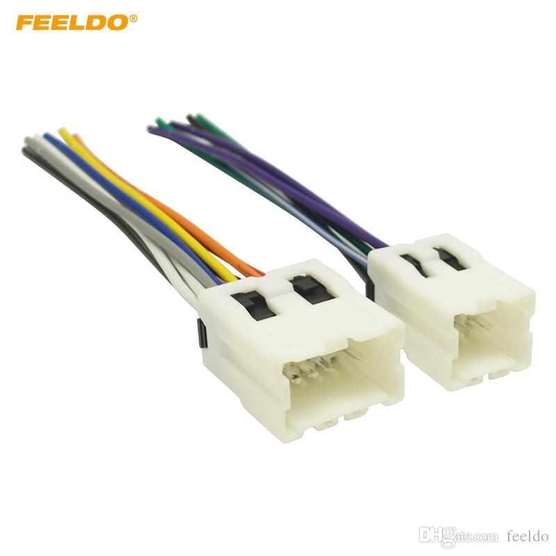 2020 Feeldo Car Radio Audio Power Wiring Harness Adapter