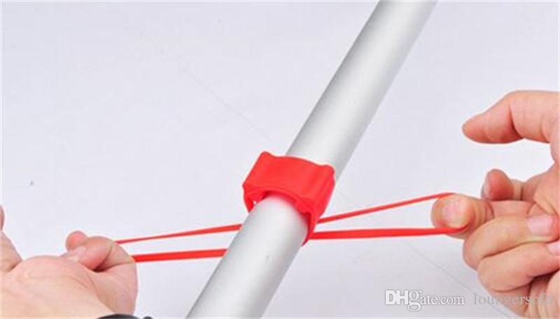 High Elastic Bike Breite Bandagen Silikon Verband Für Fahrrad Licht Berg Halter Zubehör Telefon Befestigung Bands Kunststoff 0 45st X