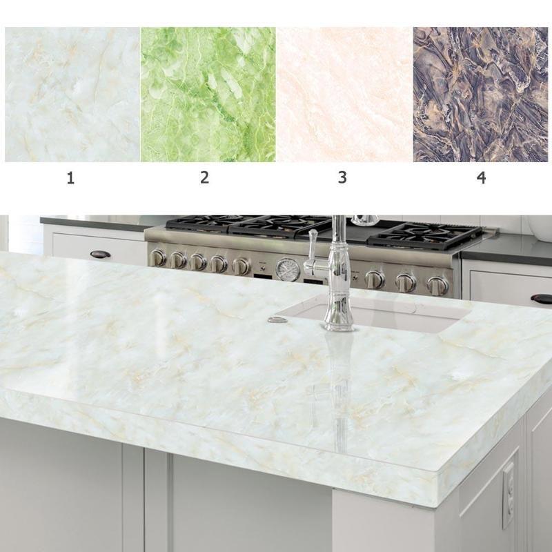 60 300cm 3d Marble Pvc Self Adhesive Wall Stickers Waterproof Tile