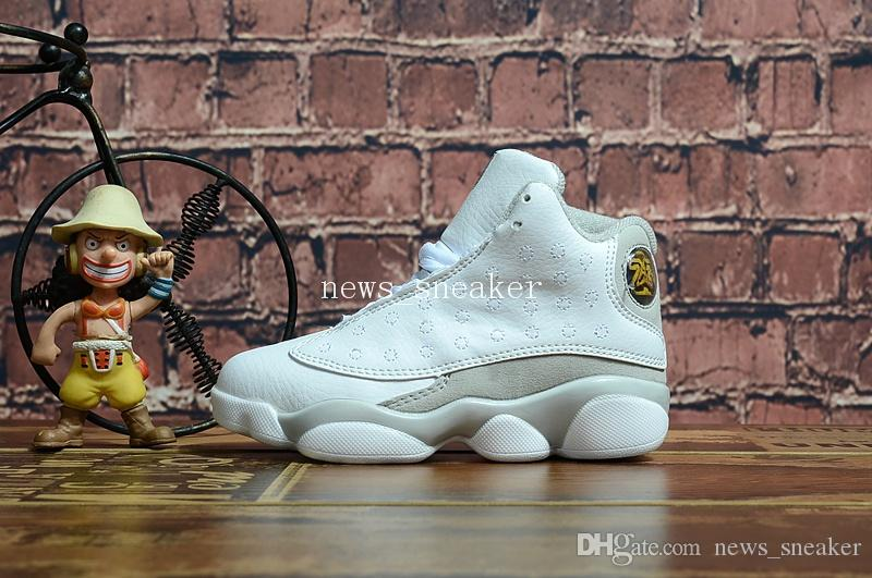 sale release dates cheap best store to get 2018 Free Shipping 13 13s Pure Money Kids Basketball Shoes 13s Size us 11C-3Y come with box outlet with paypal clearance enjoy 1SISwzx