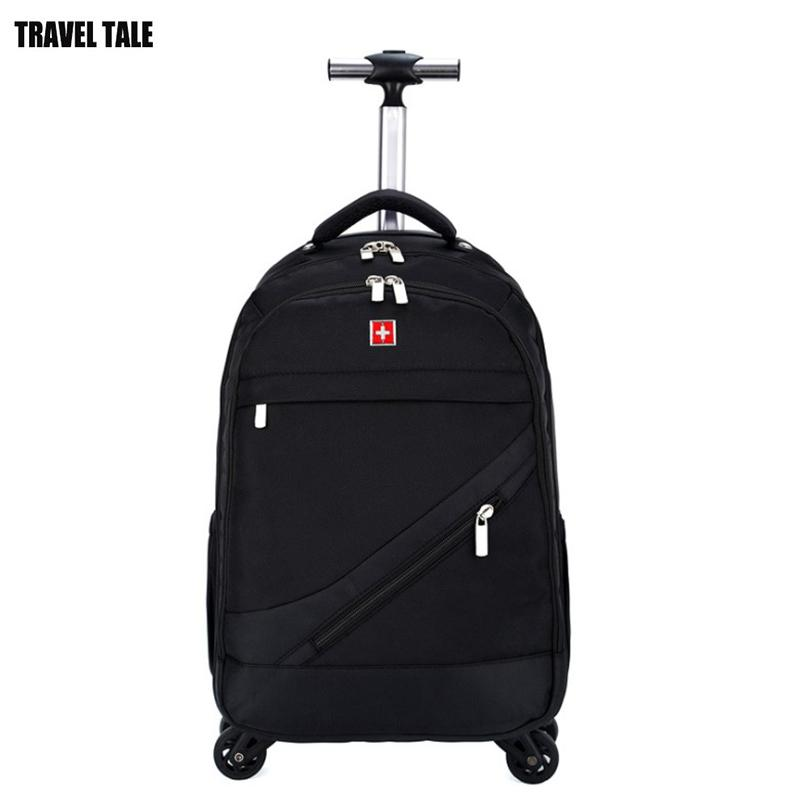 3ed3450812ba TRAVEL TALE 16 18 Inch Carry on Travel Bag Spinner Rolling Trolley ...