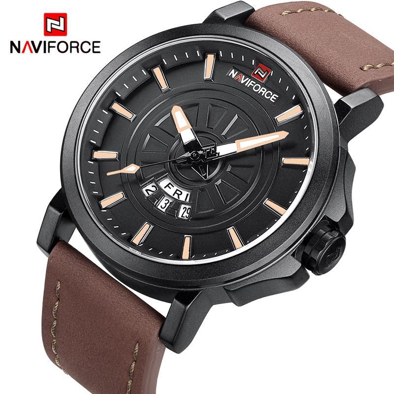 6108c567ca45 NAVIFORCE New Fashion Men Sport Watches Men s Quartz Date Clock Man Top  Luxury Brand Waterproof Wrist Watch Relogio Masculino Watches Watch Wrist  Watch ...