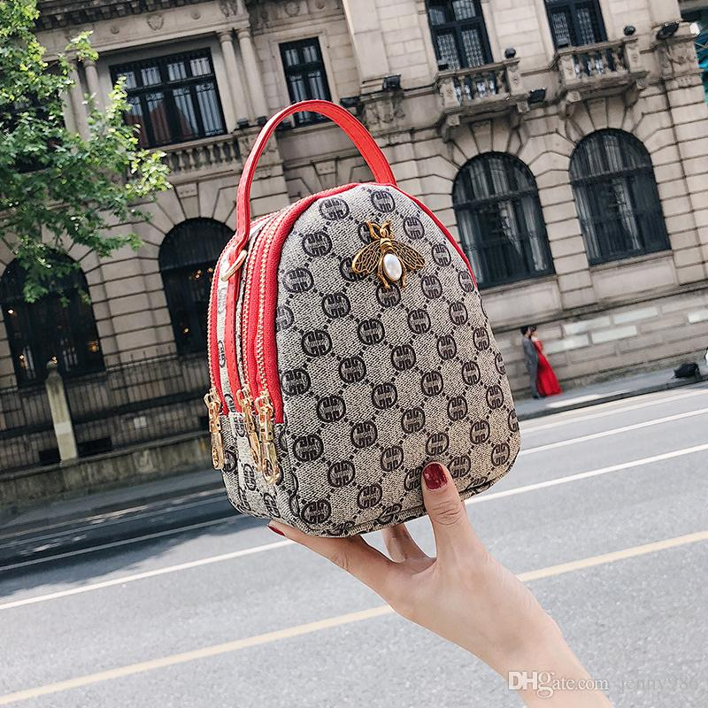 Brand 2018 New Fashion Casual Knitting Women Flap Hotsale For Cell Phone  Coin Purses Shoulder Messenger Crossbody Bags Baozhilian 5 Branded Bags  Leather ... c09debacfe