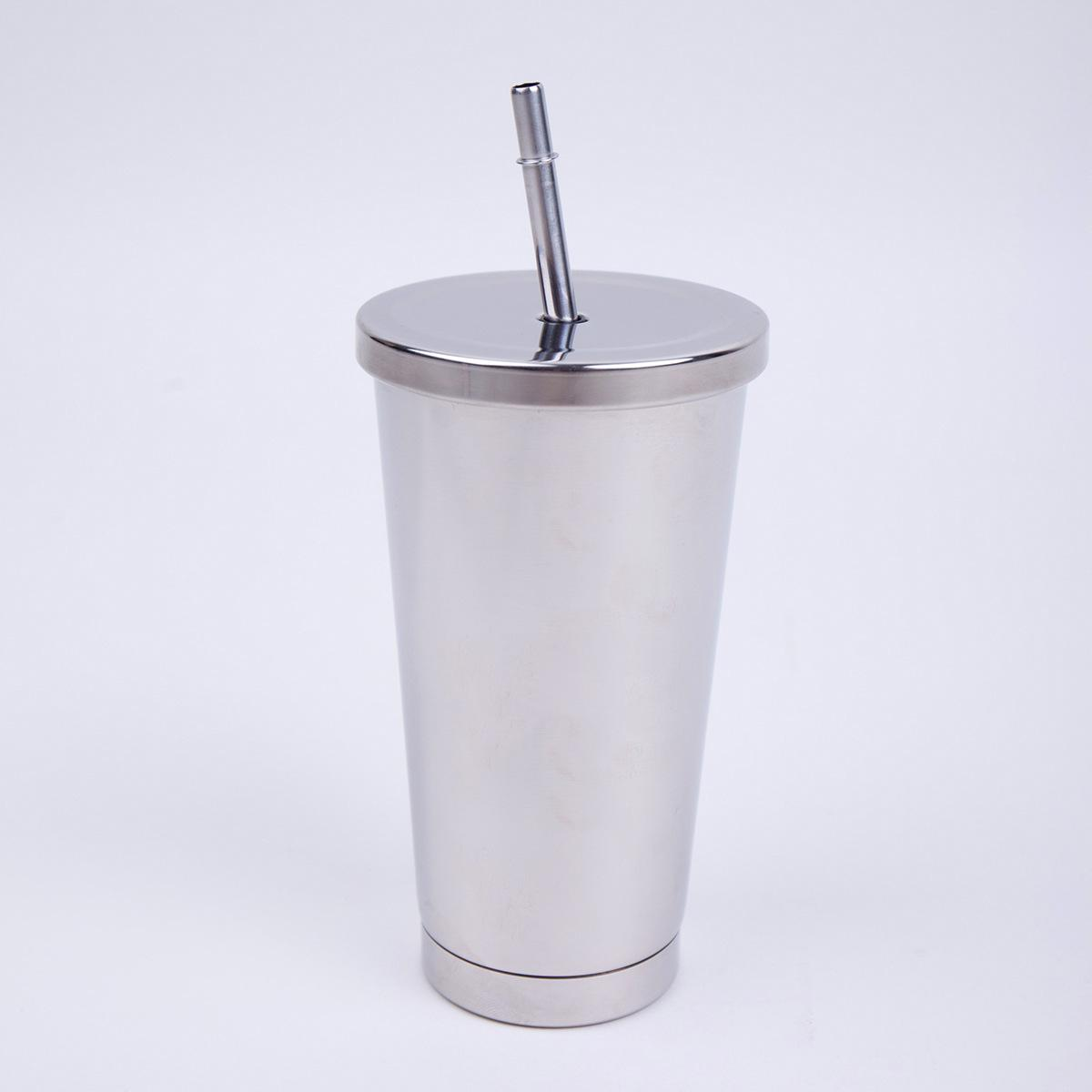 5543dd4d6e2 2019 16 Oz Stainless Steel Double Walled Insulated Tumbler With Lid And  Straw From Kyouny, $30.39 | DHgate.Com