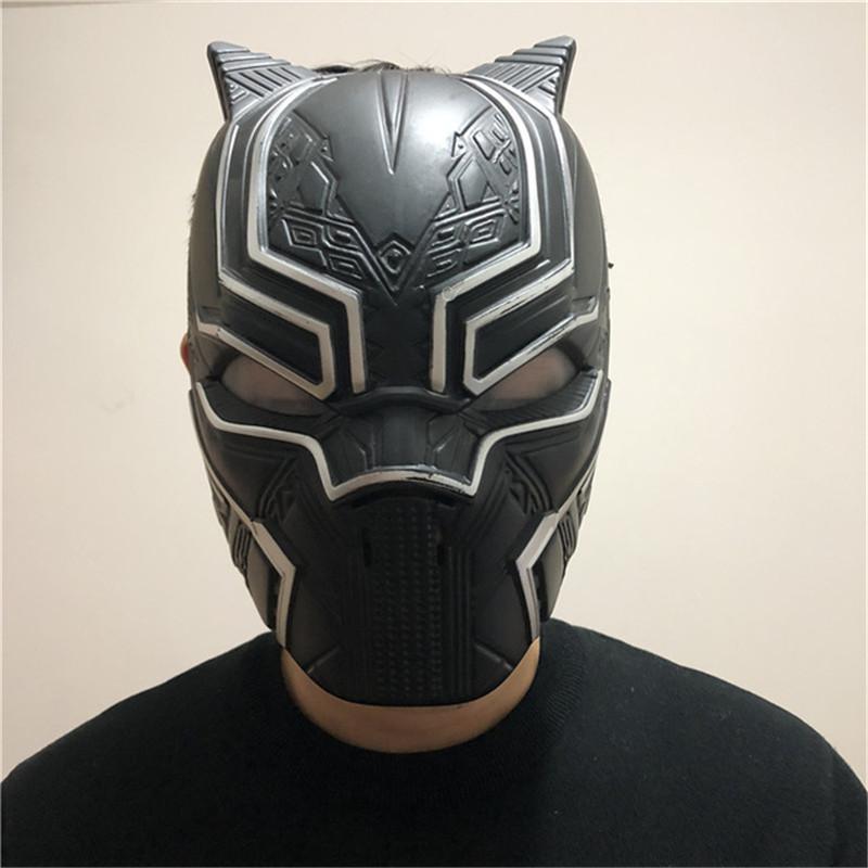 Black Panther Masks Captain America Civil War Roles Cosplay Mask