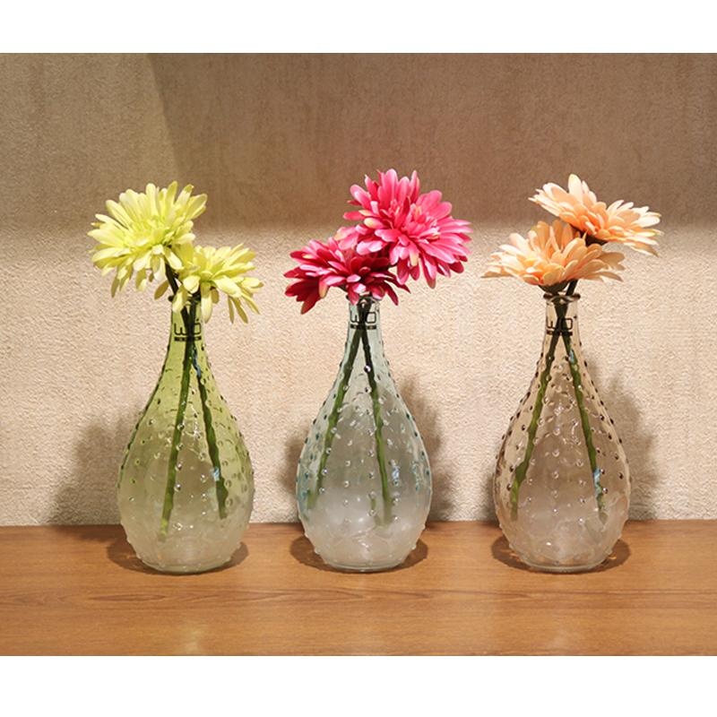 Modern Creative Glass Vase Drops Of Water Shape Glass Bottle