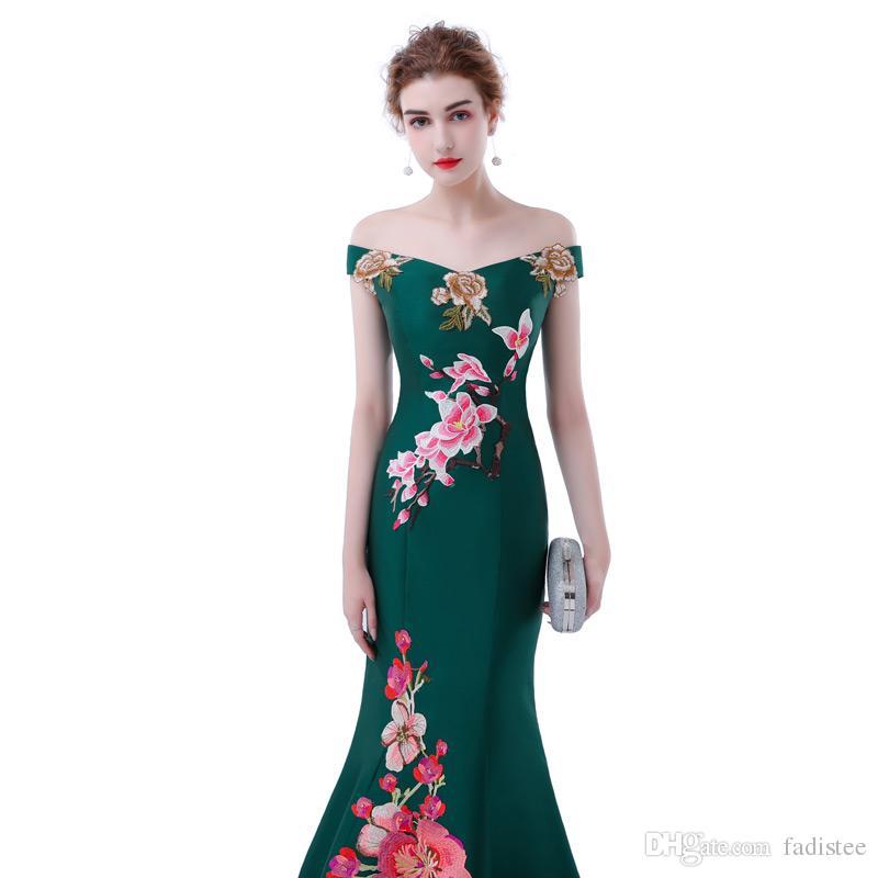 FADISTEE New Arrival Elegant Satin Dress Evening Dresses Prom Party ... 5c846748b13e