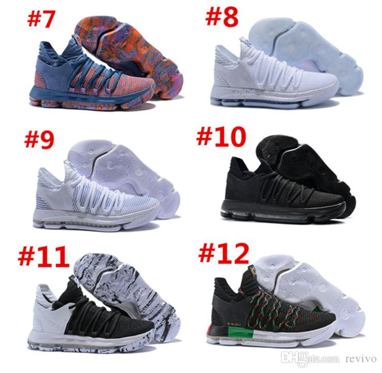 Kids Basketball Shoes 2018 Hot Sale Big Kids Athletic Shoes Children KD 10  Basketball Sneaker Cushioned Running Shoes Kids Shoe From Revivo 36405dd6c
