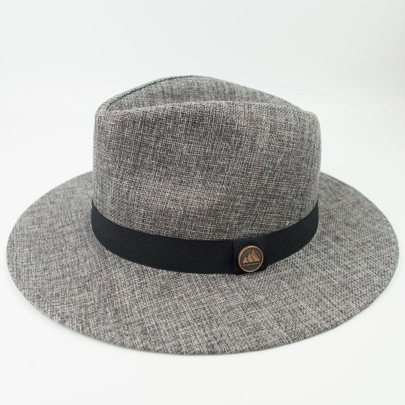 EPU-MH1817 Linen Fabric Luxury Panama Dad Men Designer Hat Women ... ec42d20819c9