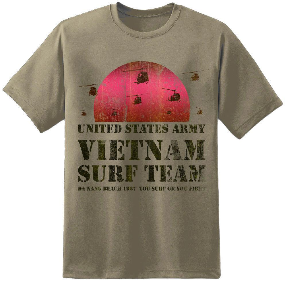 Mens Apocalypse Now Vietnam Surf Team T Shirt Lt Col Bill Kilgore