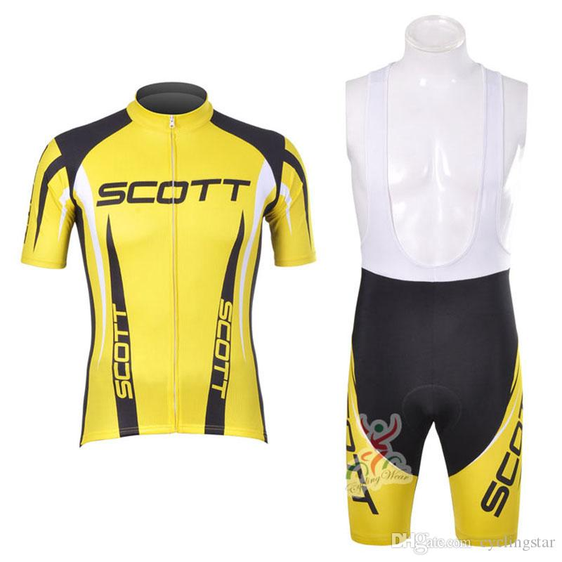 2019 New Pro Team SCOTT Cycling Clothing Breathable Quick Dry ... 688012a06