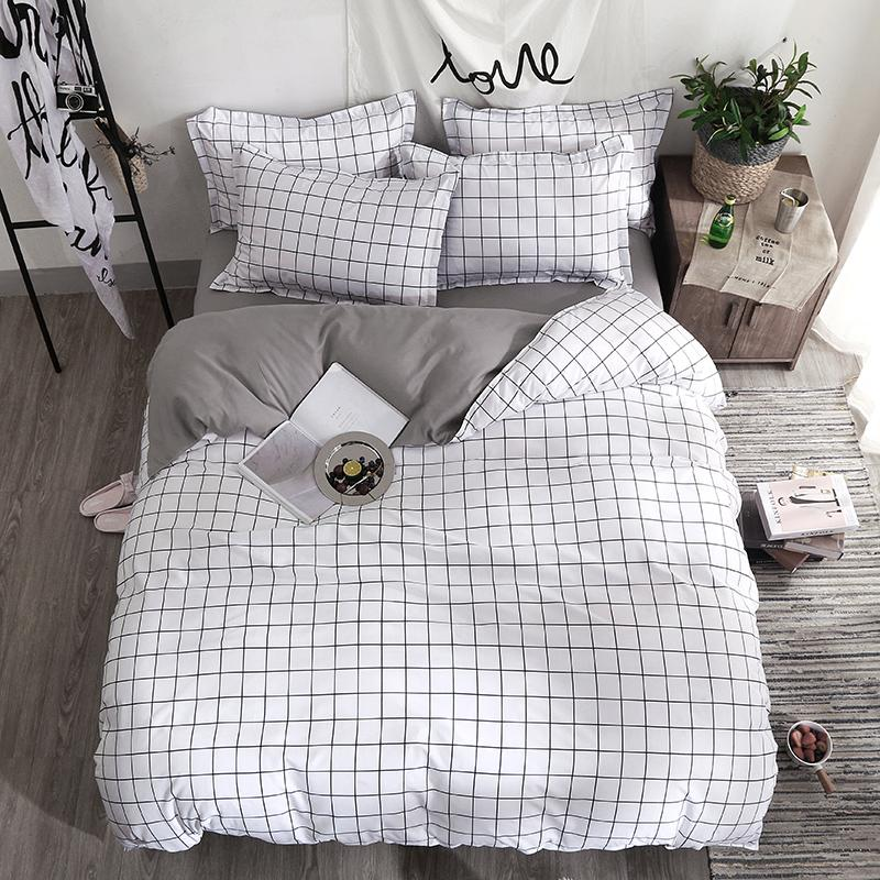Großhandel Bettwäsche Set Fashion Bettbezug Bettlaken Kissenbezug