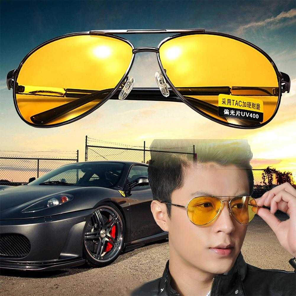 582d28a24cb Yellow Polarized Sunglasses Men Women Night Vision Goggles Driving Glasses  Driver Aviation Polaroid Sun Glasses UV400 Polarized Sunglasses Sunglasses  For ...