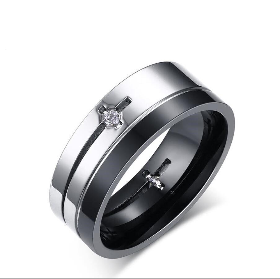 2a9ddb85d13d Acero Con 8mm Hombres Para Zhf Compre Jewelry De Anillo Inoxidable tsrdQh