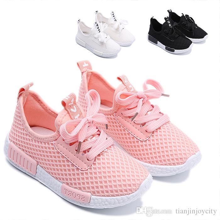 Zapatos Niña Nuevos Deporte Infantiles Para Deportivos Tenis Moda Niños De Niño 2018 Transpirables Bebé Malla Zapatillas doCWrxeB
