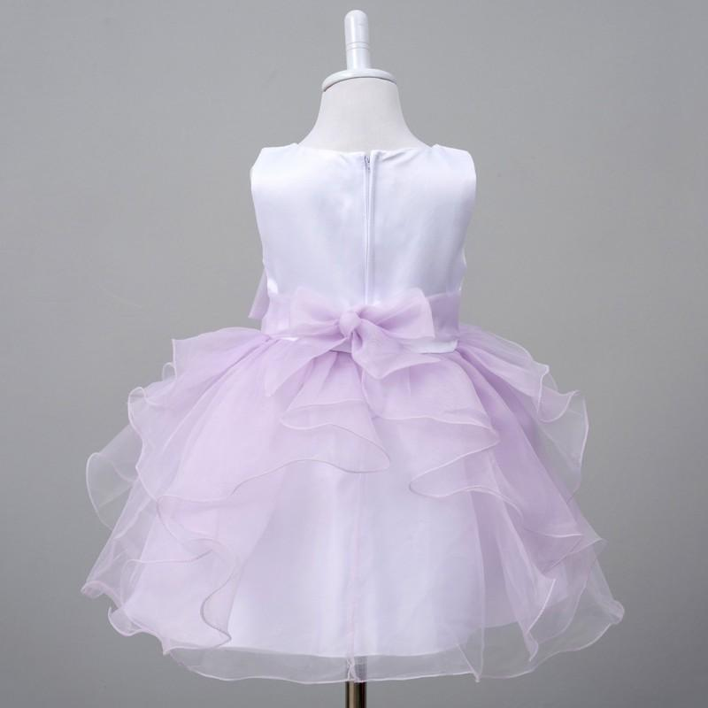 Vendita calda nuova estate di vendita calda neonate bambini infantile principessa compleanno festa nuziale spettacolo abito fiore ragazza abito