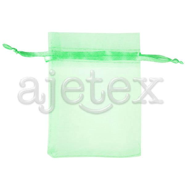 Solid Organza Rectangle Pouch Bags Gift Wedding Jewellery Reception Party Sweets Favours 13x18cm Choose BB0014
