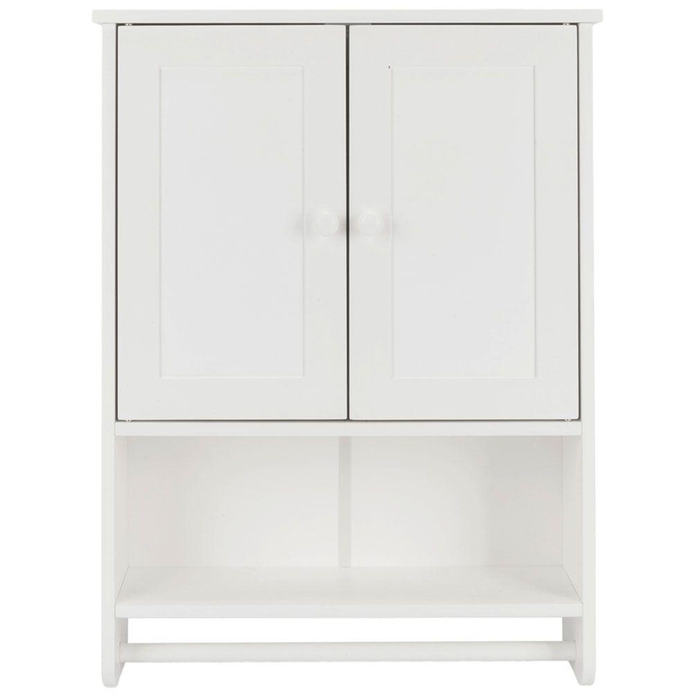 WohnmöbelBadezimmer Wandschrank Weiße Farbe Ablage ZT047