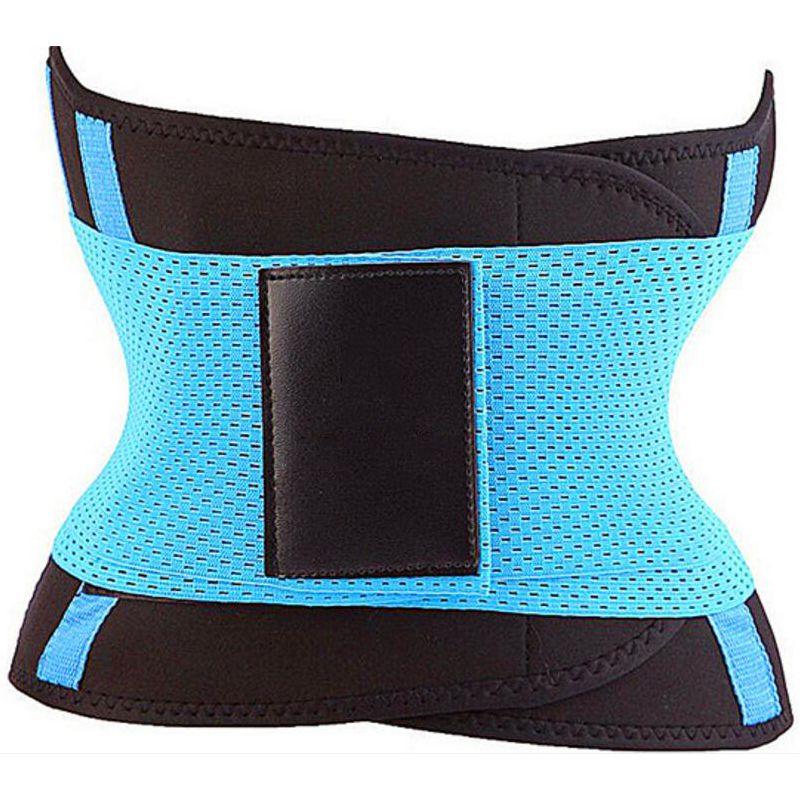 6156fe775fa 2019 Women S Fitness Waist Cincher Waist Trimmer Corset Ventilate  Adjustable Tummy Trimmer Trainer Belt Weight Loss Slimming Belt 2018 From  Idea