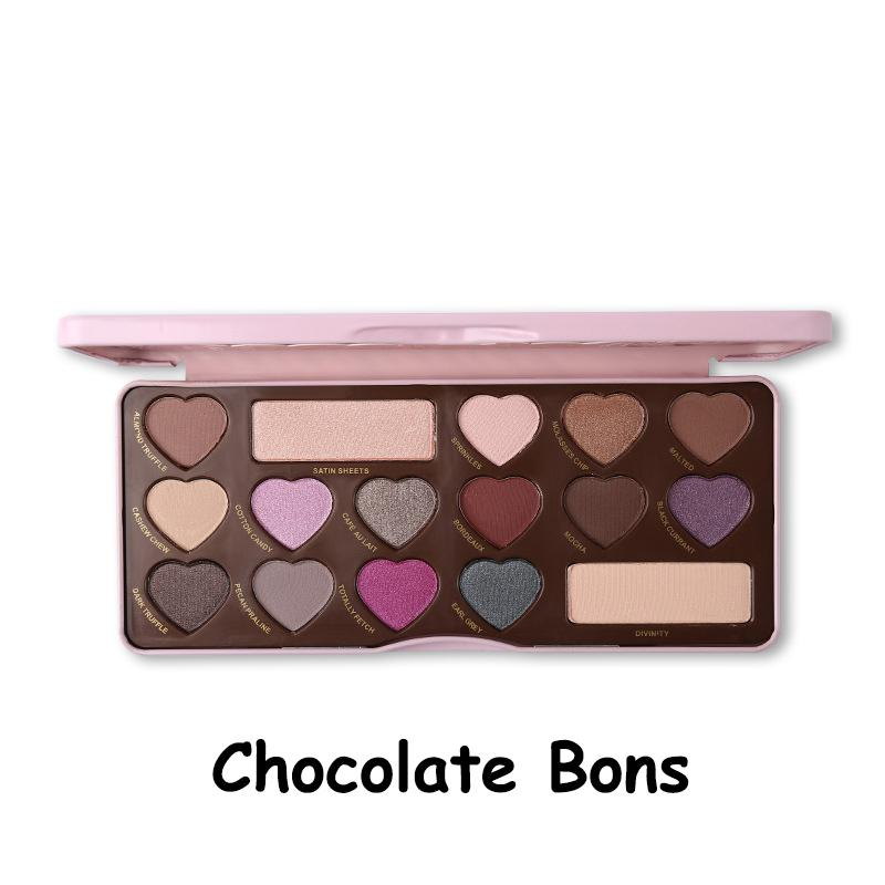 Brand Chocolate Bar Eyeshadow Palette Heart Shape Bon Bon Faced Nude Korean Makeup Shimmer Matte Eyeshadow Pallette Cosmetics Makeup Tips From Lovelymakeup, ...