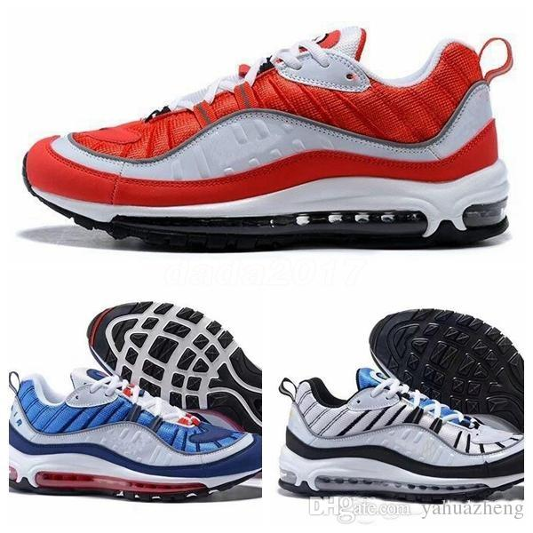 2018 Newest 98 Gundam Tour Yellow Running Shoes Sneakers Mens 20th anniversary 98 OG luminous NEW 98s Authentic Cheap Trainers Shoes 36-45 online cheap online sale for nice outlet marketable free shipping sast RiUaaMt